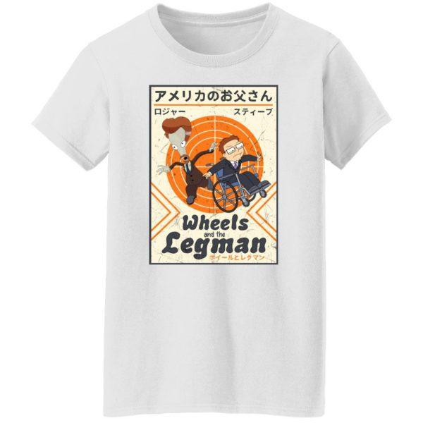 Wheels And The Legman Shirt, Hoodie, Tank Apparel 7