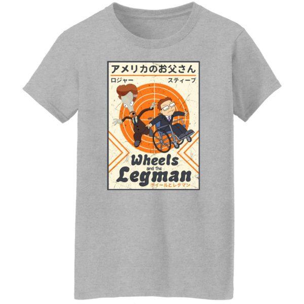 Wheels And The Legman Shirt, Hoodie, Tank Apparel 8