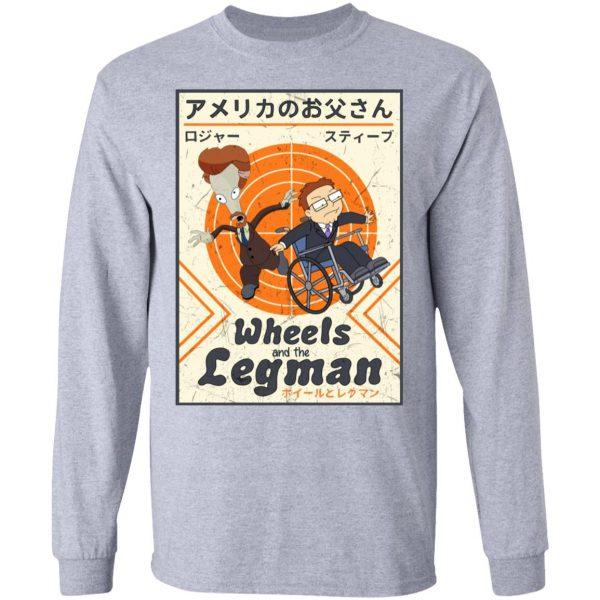 Wheels And The Legman Shirt, Hoodie, Tank Apparel 9