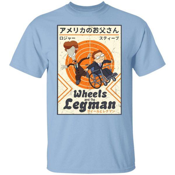 Wheels And The Legman Shirt, Hoodie, Tank Apparel 3