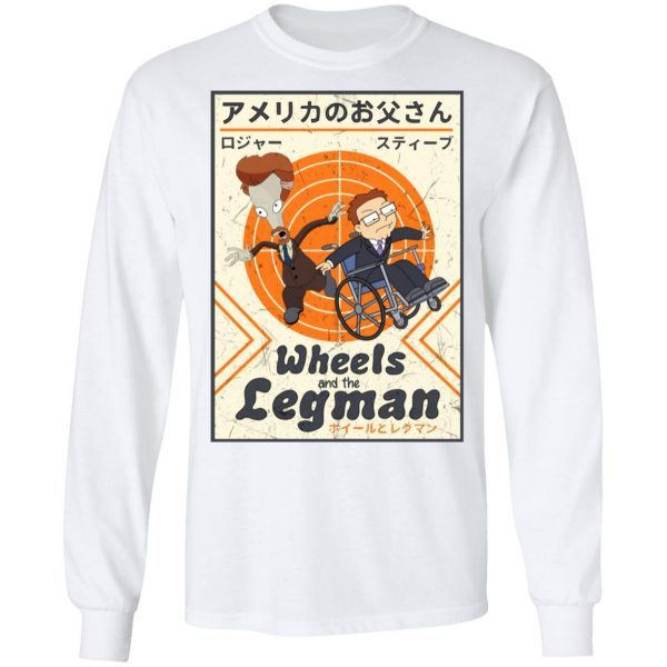Wheels And The Legman Shirt, Hoodie, Tank Apparel 10