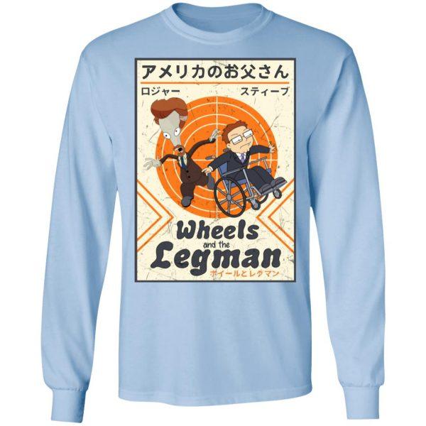Wheels And The Legman Shirt, Hoodie, Tank Apparel 11