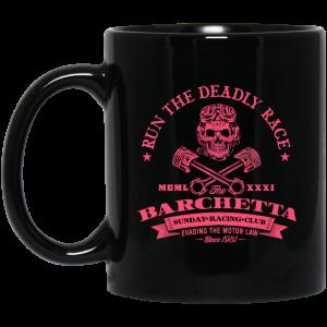 Barchetta Sunday Racing Club Run The Deadly Race Mug Coffee Mugs