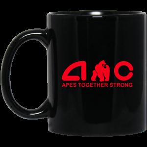 AMC Apes Together Strong AMC To The Moon Mug Coffee Mugs