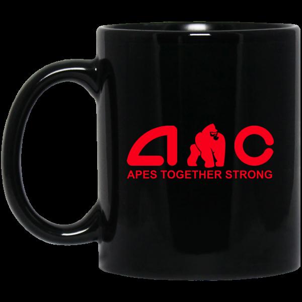 AMC Apes Together Strong AMC To The Moon Mug Coffee Mugs 3