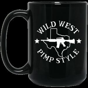 Wild West Pimp Style Mug Coffee Mugs 2