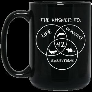 42 The Answer To Life Universe Everything Mug Coffee Mugs 2